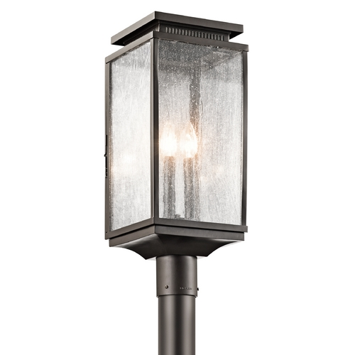 Kichler Lighting Kichler Lighting Manningham Olde Bronze Post Light 49388OZ