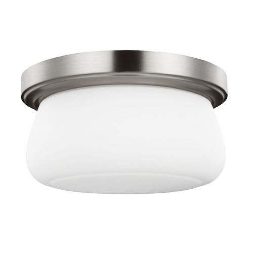 Feiss Lighting Feiss Lighting Vintner Satin Nickel Flushmount Light FM411SN