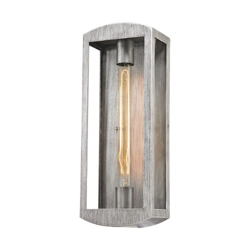 Elk Lighting Elk Lighting Trenton Silvery Ash Outdoor Wall Light 45181/1