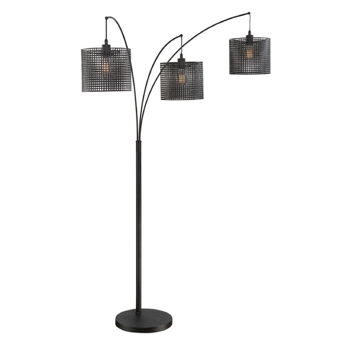 Quoizel Lighting Quoizel Lighting Quoizel Portable Lamp Floor Lamp with Drum Shade Q2606F