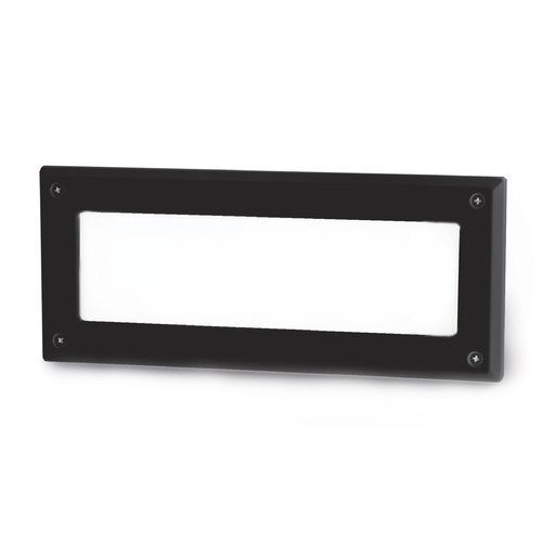 WAC Lighting WAC Lighting Endurance Architectural Black LED Recessed Step Light WL-5105-30-aBK