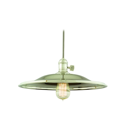 Hudson Valley Lighting Pendant Light in Historic Nickel Finish 8001-HN-MM2