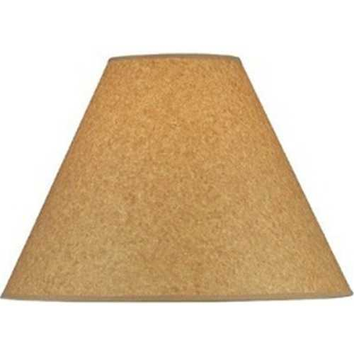 Lite Source Lighting Kraft Paper Empire Lamp Shade with Spider Assembly CH1192-16
