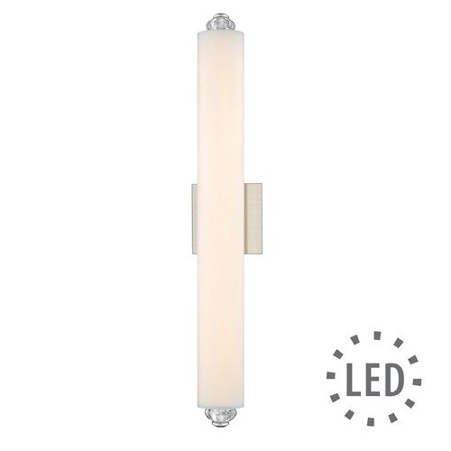 Golden Lighting Vera LED Bath Bar in Pewter with Opal Glass 9107-B24PW-OP