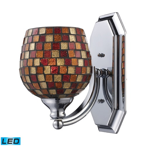 Elk Lighting Elk Lighting Bath and Spa Polished Chrome LED Sconce 570-1C-MLT-LED