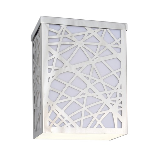 ET2 Lighting Inca Polished Chrome LED Outdoor Wall Light E21333-61PC
