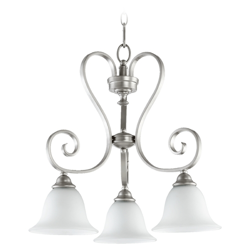 Quorum Lighting Quorum Lighting Celesta Classic Nickel Chandelier 6453-3-64