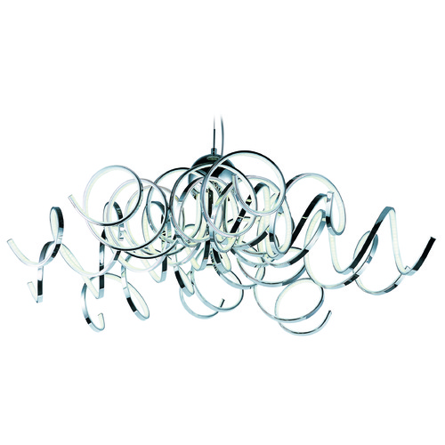 ET2 Lighting Chaos Polished Chrome LED Pendant Light E21417-PC