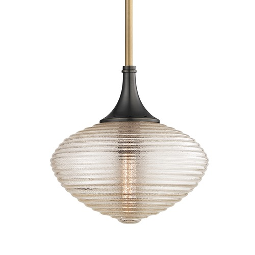Hudson Valley Lighting Hudson Valley Lighting Knox Aged Old Bronze Pendant Light with Oblong Shade 1922-AOB