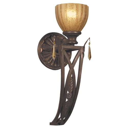 Crystorama Lighting Crystorama Lighting Hot Deal Espresso Sconce 6941-ES-GT-MWP
