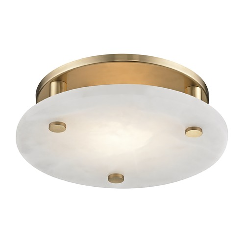 Hudson Valley Lighting Hudson Valley Lighting Croton Aged Brass LED Flushmount Light 4712-AGB