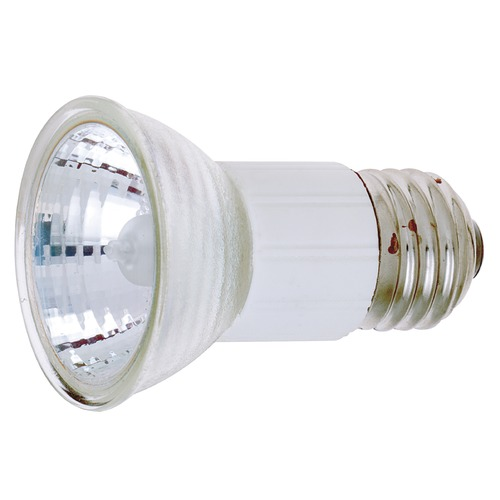 Satco Lighting Halogen JDR Light Bulb Medium Base Flood 36 Degree Beam Spread 2900K 120V Dimmable S3439