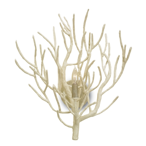 Currey and Company Lighting Currey and Company Lighting White Coral Sconce 5158