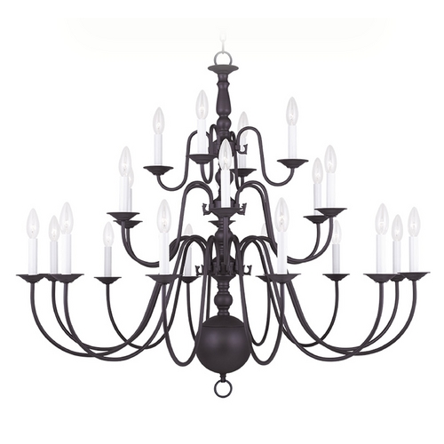 Livex Lighting Livex Lighting Williamsburg Bronze Chandelier 5015-07