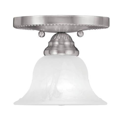 Livex Lighting Livex Lighting Edgemont Brushed Nickel Semi-Flushmount Light 1530-91