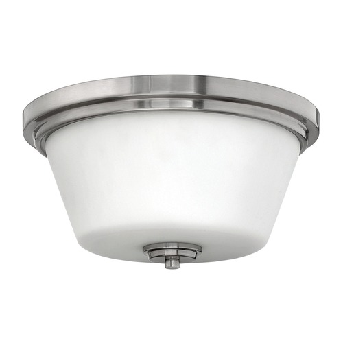 Hinkley Lighting Hinkley Lighting Flushmount Brushed Nickel LED Flushmount Light 5551BN-LED