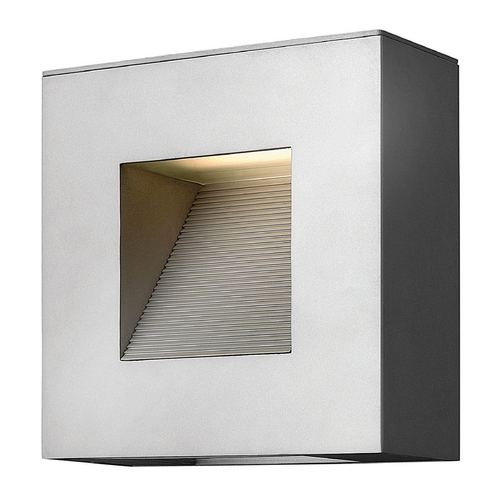 Hinkley Lighting Hinkley Lighting Luna Titanium LED Outdoor Wall Light 1647TT-LED