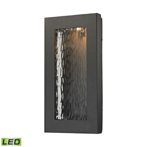 Elk Lighting Elk Lighting Jeremy Matte Black LED Outdoor Wall Light 45191/LED