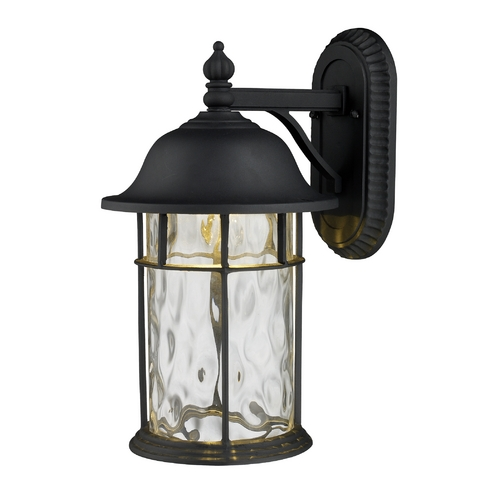 Elk Lighting LED Outdoor Wall Light with Clear Glass in Matte Black Finish 42260/1