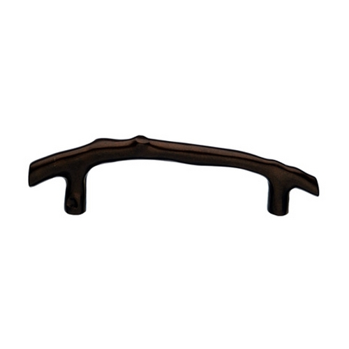 Top Knobs Hardware Cabinet Pull in Mahogany Bronze Finish M1348