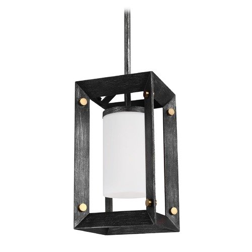 Sea Gull Lighting Sea Gull Lighting Chatauqua Stardust Mini-Pendant Light with Cylindrical Shade 6140501-846