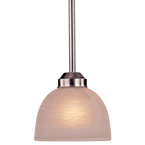 Minka Lavery Energy Star Mini-Pendant - Etched Marble Glass 1421-84-PL