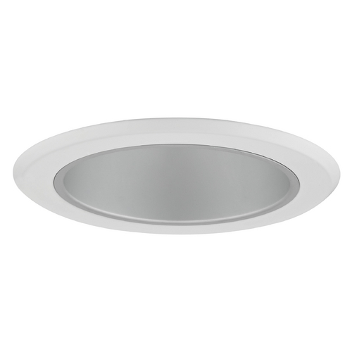 Recesso Lighting by Dolan Designs Satin Deep Reflector Trim for 5-Inch Recessed Cans T505S-WH