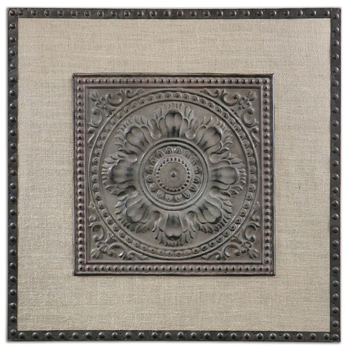 Uttermost Lighting Uttermost Filandari Stamped Metal Wall Art 13826