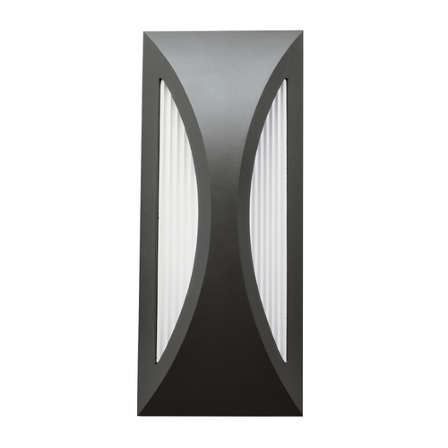 Kichler Lighting Kichler Lighting Cesya Satin Black LED Outdoor Wall Light 49494SBK