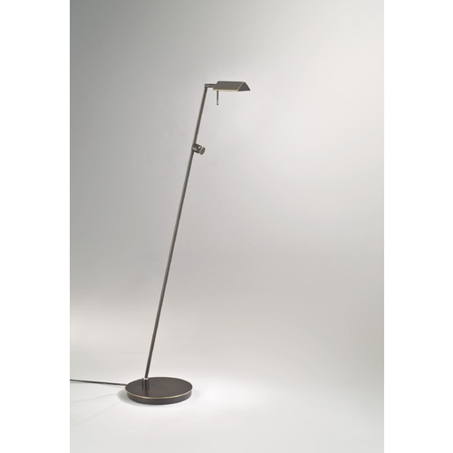 Holtkoetter Lighting Holtkoetter Modern Floor Lamp in Hand-Brushed Old Bronze Finish 6440 HBOB