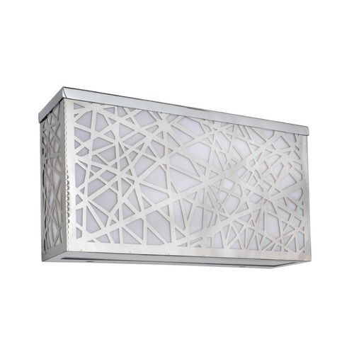 ET2 Lighting Inca Polished Chrome LED Outdoor Wall Light E21336-61PC
