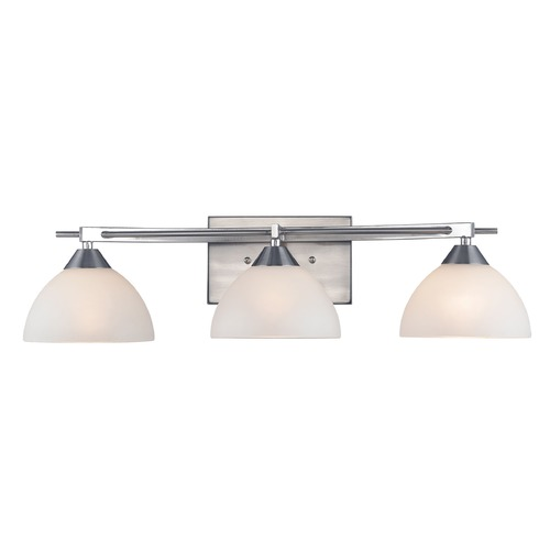 Elk Lighting Elk Lighting Freeland Brushed Nickel Bathroom Light 17262/3