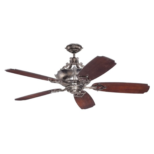 Craftmade Lighting Craftmade Lighting Wellington Xl Tarnished Silver Ceiling Fan with Light K11063