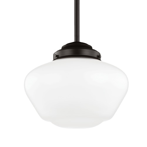 Feiss Lighting Feiss Alcott Oil Rubbed Bronze Pendant Light P1385ORB
