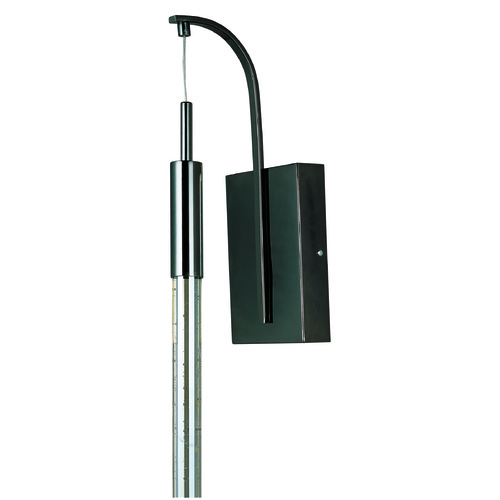 ET2 Lighting Scepter Black Chrome LED Sconce E32770-91BC