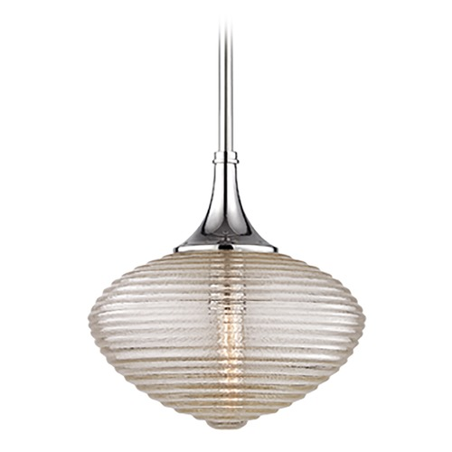 Hudson Valley Lighting Hudson Valley Lighting Knox Satin Nickel Pendant Light with Oblong Shade 1922-SN
