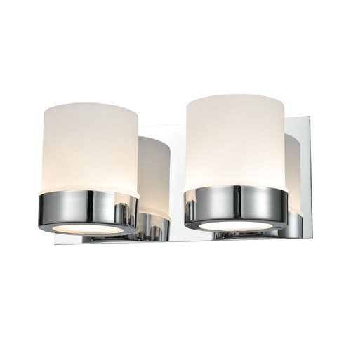 Alico Industries Lighting Alico Lighting Mulholland Chrome Bathroom Light BV2122-10-15