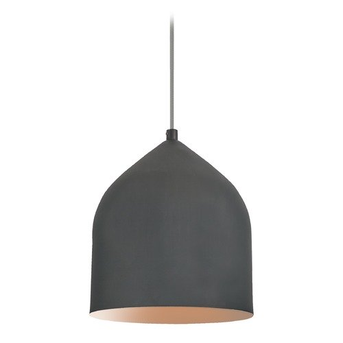 Kuzco Lighting Modern Graphite and Copper LED Mini-Pendant 3000K 399LM PD9108-GH/CP
