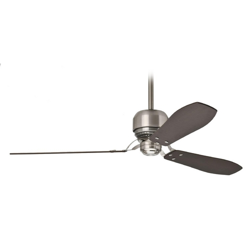 Casablanca Fan Co Casablanca 59504 Modern Ceiling Fan without Light in Brushed Nickel 59504