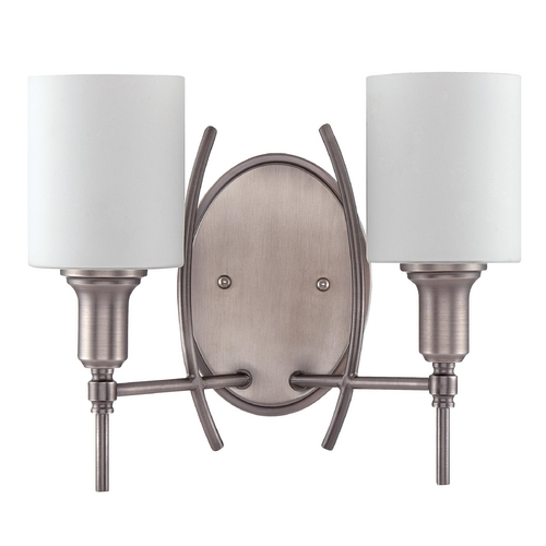 Craftmade Lighting Craftmade Meridian Antique Nickel Sconce 37262-AN