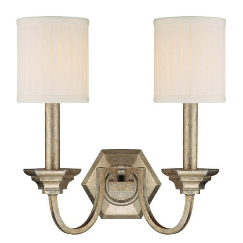 Capital Lighting Capital Lighting Fifth Avenue Winter Gold Sconce 1987WG-484