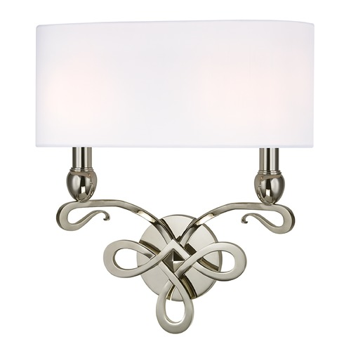 Hudson Valley Lighting Hudson Valley Lighting Pawling Polished Nickel Sconce 7212-PN
