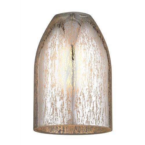 Design Classics Lighting Mercury Bowl / Dome Glass Shade GL1039D