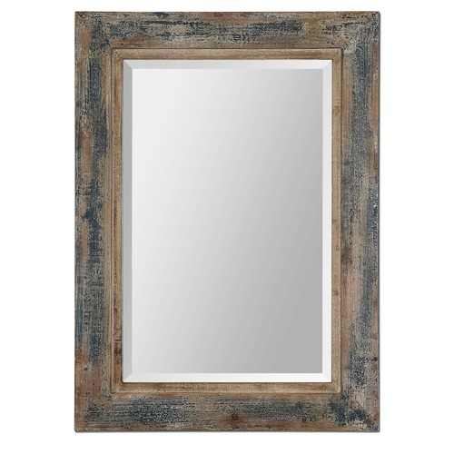 Uttermost Lighting Uttermost Bozeman Distressed Blue Mirror 13829