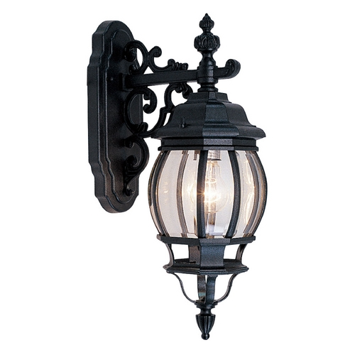 Livex Lighting Livex Lighting Frontenac Black Outdoor Wall Light 7706-04