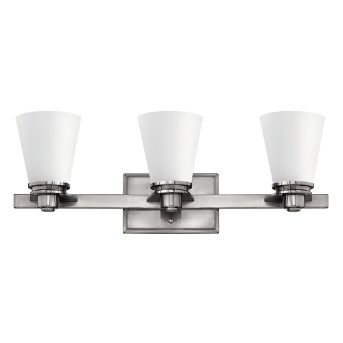 Hinkley Lighting Hinkley Lighting Avon Brushed Nickel Bathroom Light 5553BN-GU24