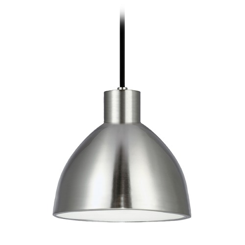 Kuzco Lighting Farmhouse Brushed Nickel LED Mini-Pendant 3000K 338LM PD1706-BN