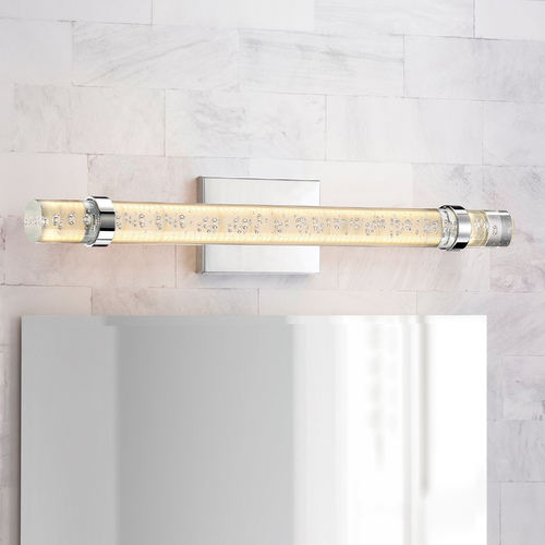 Quoizel Lighting Quoizel Lighting Platinum Bracer Polished Chrome LED Vertical Bathroom Light PCBC8526C