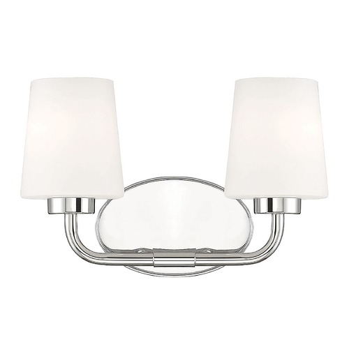 Savoy House Savoy House Lighting Capra Polished Nickel Bathroom Light 8-4090-2-109