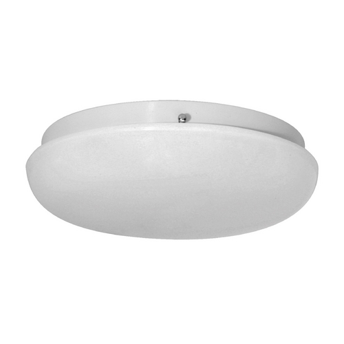 Progress Lighting Progress Flushmount Light with White in White Finish P3433-30WB